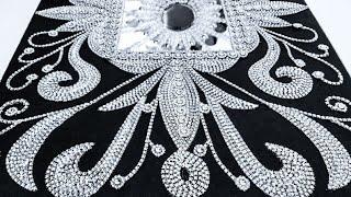 Get Free Pattern To Make This Beautiful Wall MirrorI DIY!!