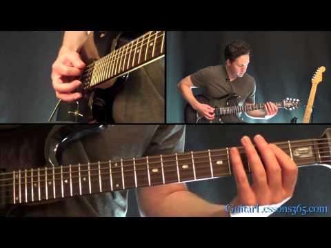 Harvester of Sorrow Guitar Lesson - Metallica - Intro