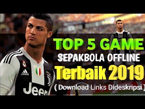 Top 5 Game Sepakbola Offline Terbaik & Terkeren Android 2019 | Best Football Android Download Links