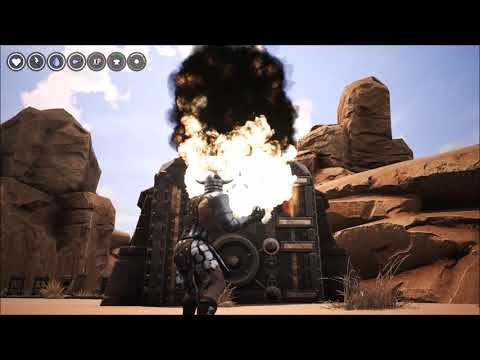 Conan Exiles- How To Bust In A Vault, Explosives or Grease Orbs?