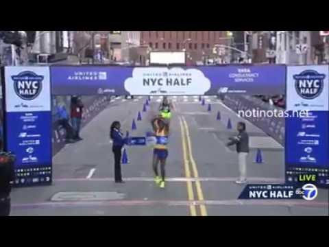 Lilesa Feyisa  did it again in new york half marathon