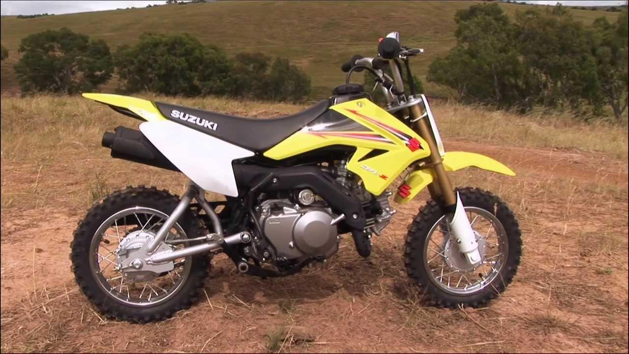 Mxtv Bike Review Suzuki Dr Z 70 Youtube