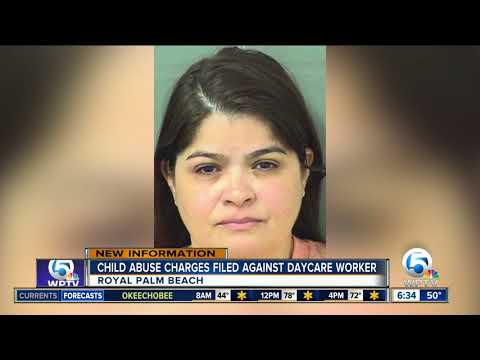 Daycare worker in Royal Palm Beach arrested, caught on camera force feeding child