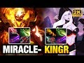 Miracle- Shadow Fiend Vs Kingr Drow Ranger - Just 1 Mistake Dota 2 video