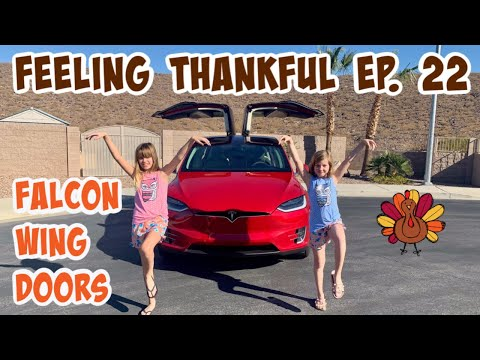 feeling-thankful-for-the-falcon-wing-doors-feature-of-the-tesla-model-x---episode-#22