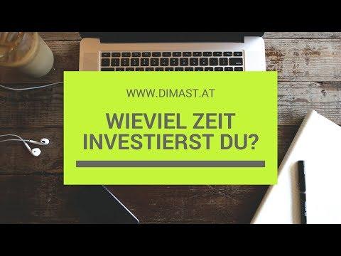 Wieviel Zeit investierst du in dein Business?