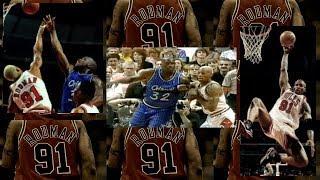 NBA《アメ本²話》ロッドマンのシャックに対するディフェンス ~ 1996年東区ファイナル第1戦より thumbnail