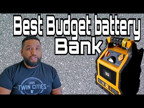 Best Budget Battery Bank: 3 in 1 CAT Power Station With Jump Starter