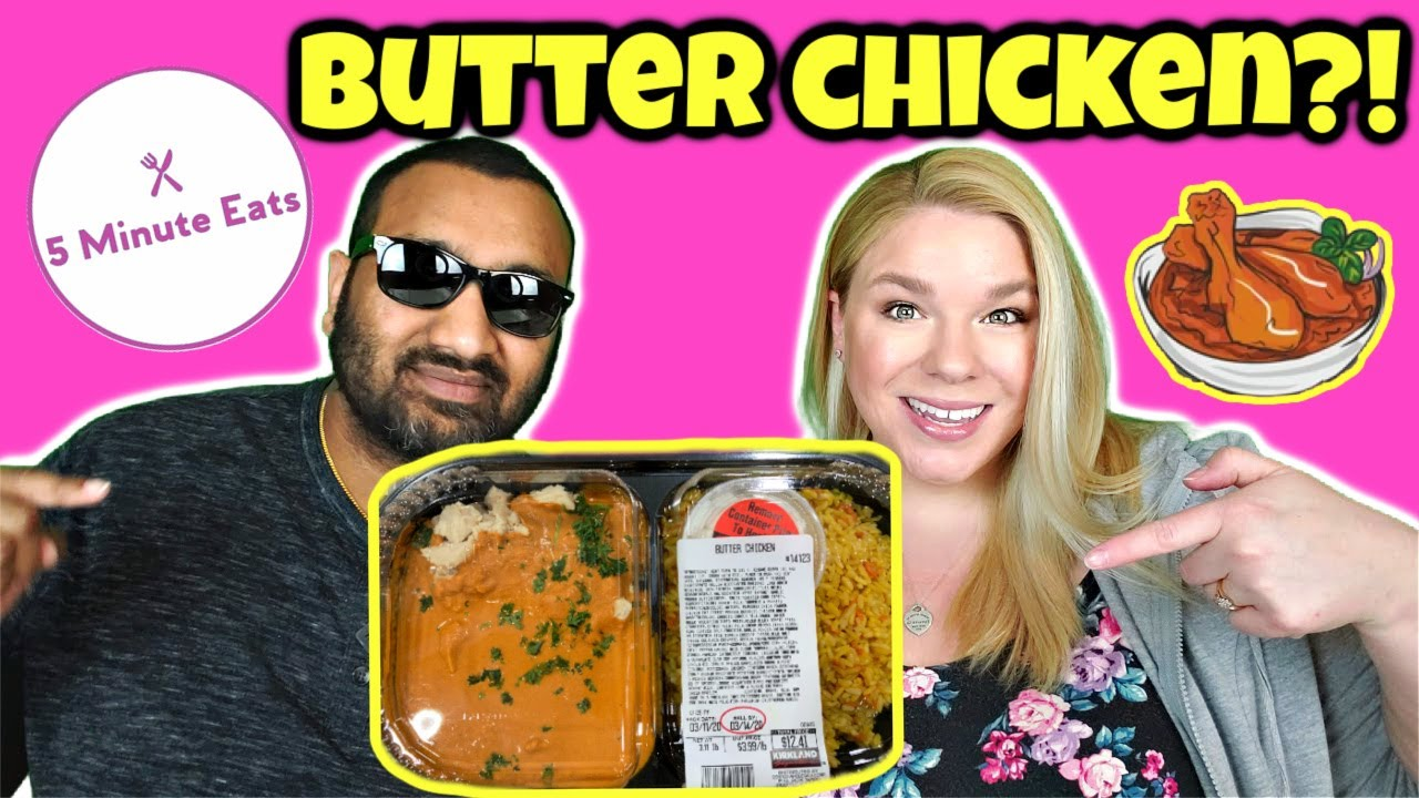 Costco Take And Bake Butter Chicken Review Youtube