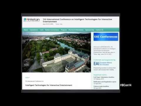 Open stage: lighting talks - Blender Conference 2014