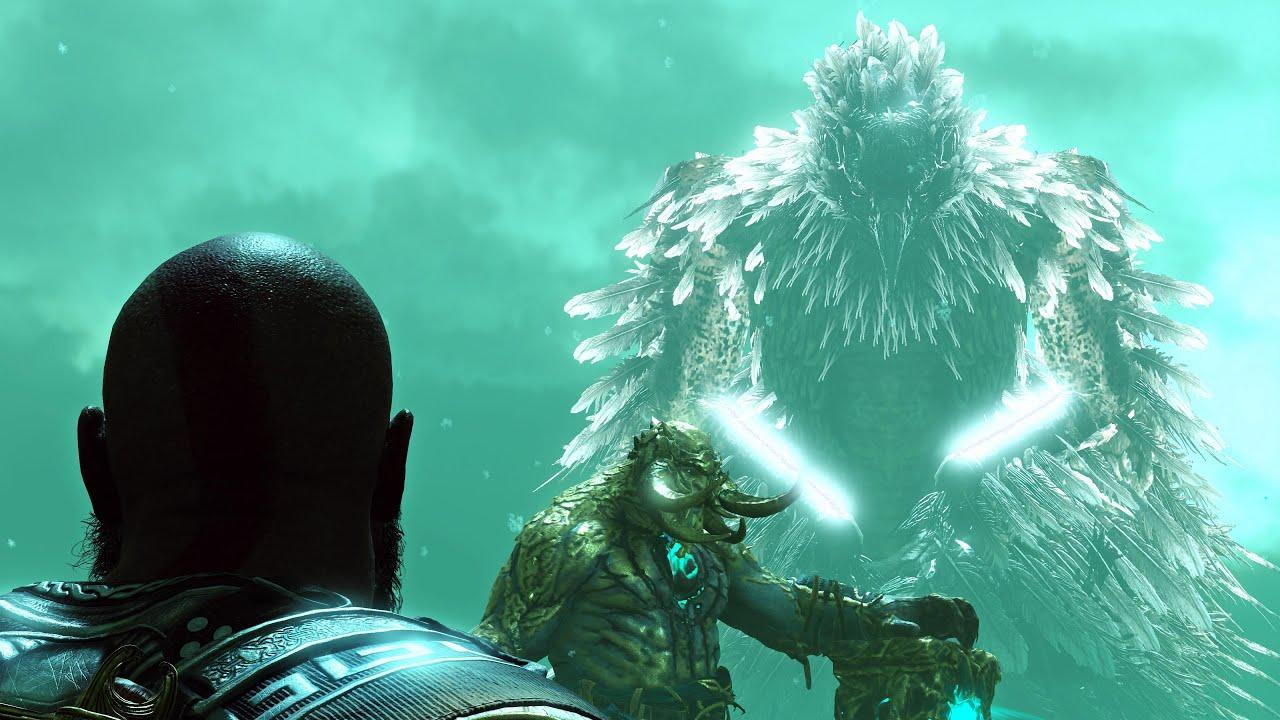 God Of War 4 Kratos Meets Zeus In Hell Ps4 2018