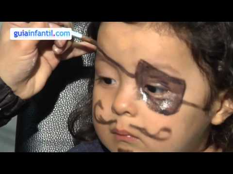 Maquillage des enfants pirate youtube - Maquillage pirate fille ...