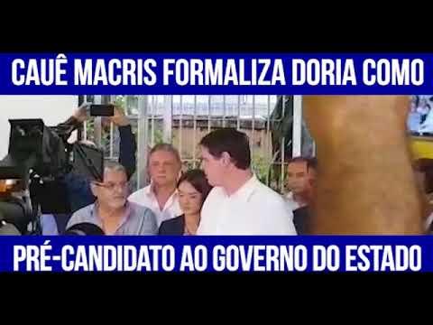Cauê Macris confirma João Doria como candidato ao governo do estado de SP