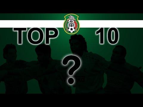 Top 10 ● Mejores Jugadores de Mexico En La Historia