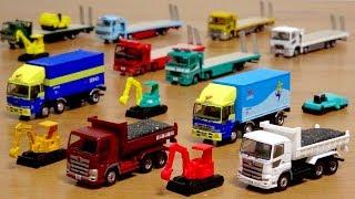 はたらくくるま ザ・トラックコレクション第12弾 カッコイイ車両が集結!日野プロフィア・いすゞギガ・UDトラックスクオン・三菱ふそうスーパーグレート・重機運搬車