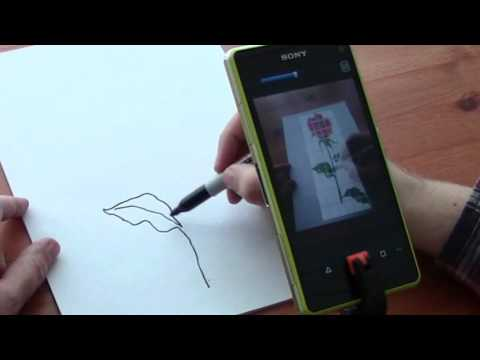 Artist's Eye Drawing Aid App For Android