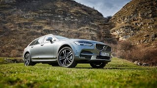 Volvo V90 Cross Country Test Drive AutoBlog.MD