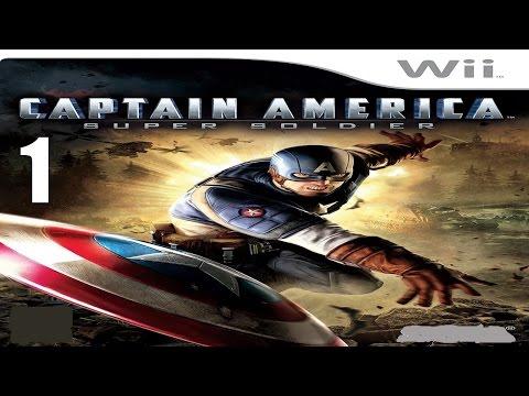 Captain America: Super Soldier - Прохождение Часть 1 (Wii)