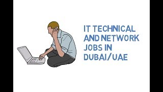 IT Technical Support Networking Jobs in Dubai UAE