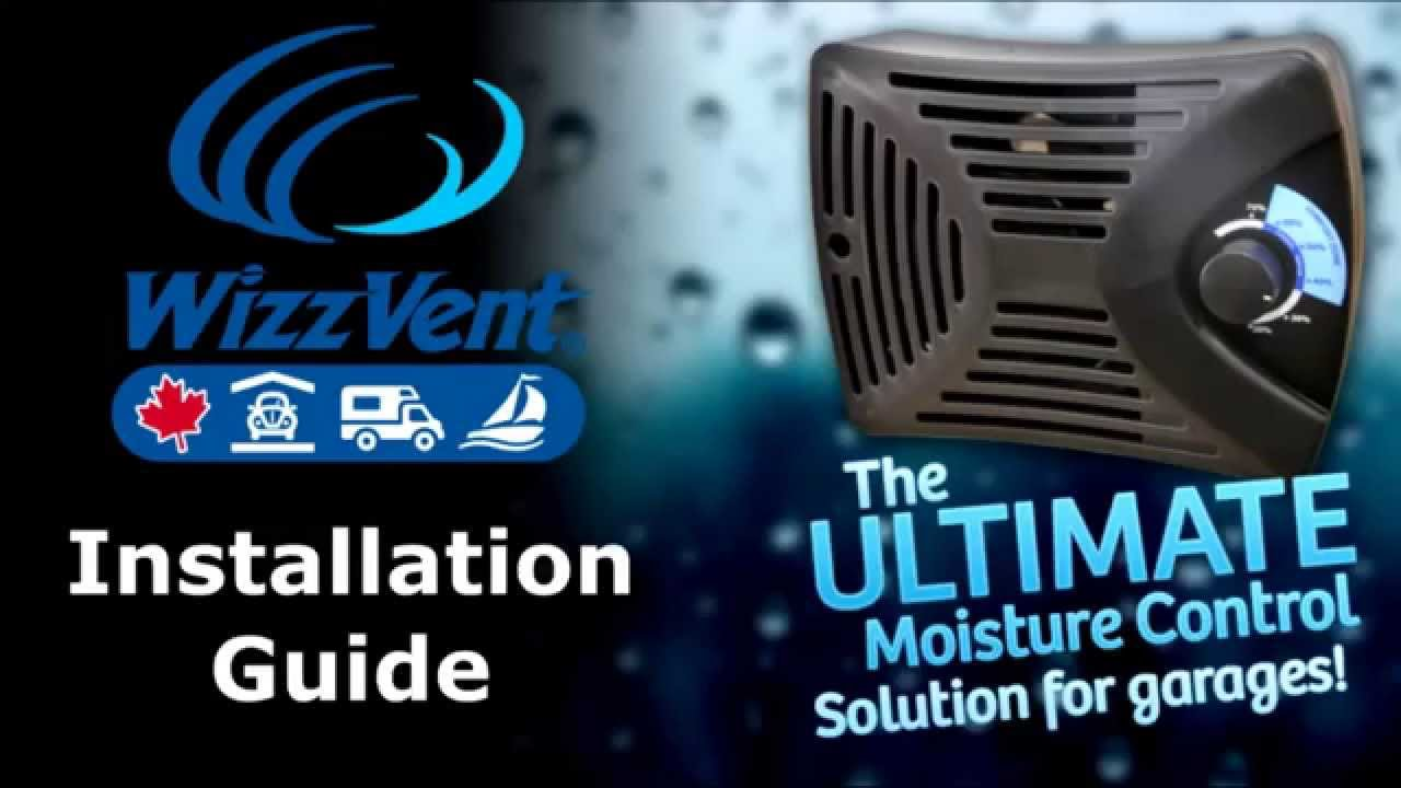 Wizzvent The Ultimate Moisture Control Solution For