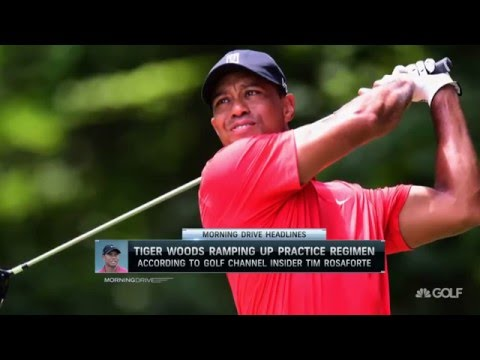 Morning Drive: Tiger Woods Ramps up Practice 4/20/16 | Golf Channel