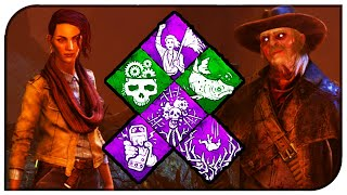 "Dead By Daylight - New Killer/Survivor ""The Deathslinger"" & ""Zarina Kassin"" Perk Analysis!"