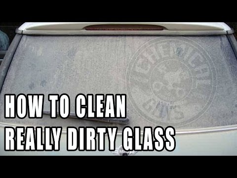 Cleaning Really Dirty Glass - Chemical Guys