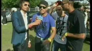 (3/4) East London Mela 2009 Ek aur Ek 11 Venus Tv  Road Show ( Imran Khan & Metz Trix)