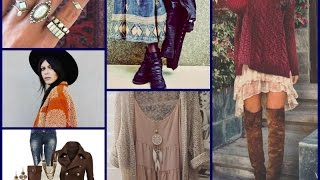 Download Boho Outfit Ideas - Fall\Winter Fashion Tips Mp3 and Videos