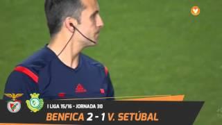 Benfica 2-1 Vitória de Setúbal