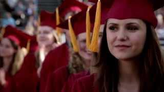 Full Graduation Scene (The Vampire Diaries 4x23: Graduation SEASON FINALE)