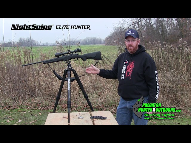 NightSnipe Elite Hunter Tripod / Ball Head Video