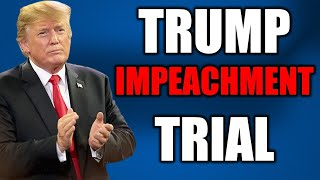WATCH NOW: Senate Impeachment Trial of President Trump