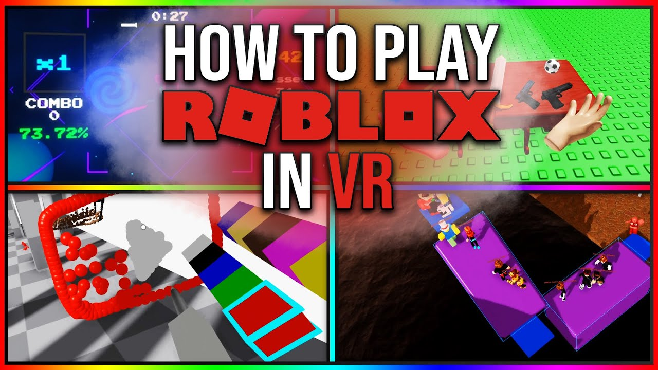 Can You Play Roblox On Vr In 2019 How To Play Roblox In Vr Youtube