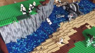 GREAT Lego clone Moc on Alderaan Part 2/3 (part one lost) | MT Productions (timelapse)