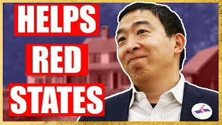 Yang's Freedom Dividend Will Help Red States Most!🧢