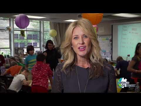 World of Work Dietitian Simulation at Fuerte Elementary School. School Marketing Videos San Diego