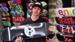 Zero Single Skull Skateboard Deck 7.75