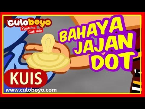 Culoboyo BAHAYA JAJAN BENTUK DOT | Kartun Lucu
