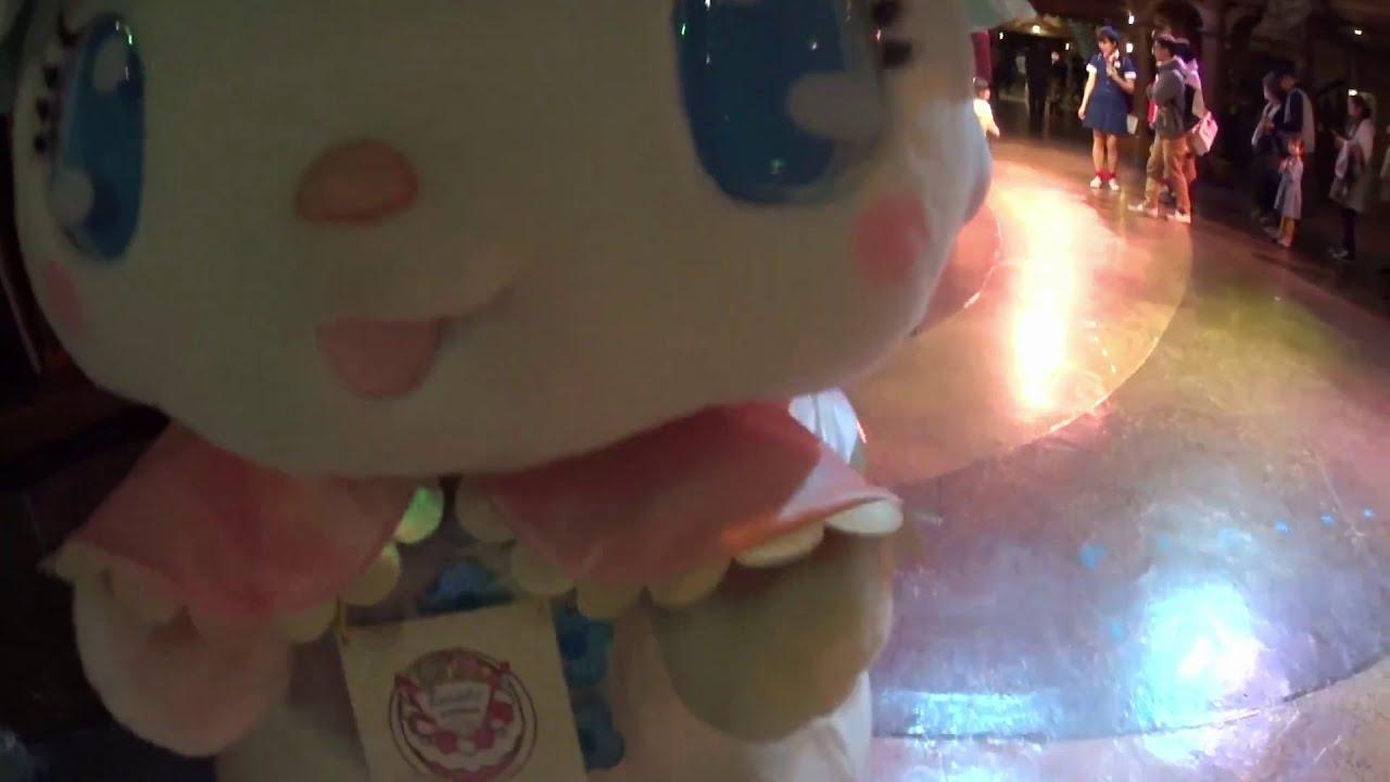 サンリオピューロランドでラリマーちゃんに誕生日のお祝いをしつつ色紙をプレゼントしてきたよ (2015.12.5)