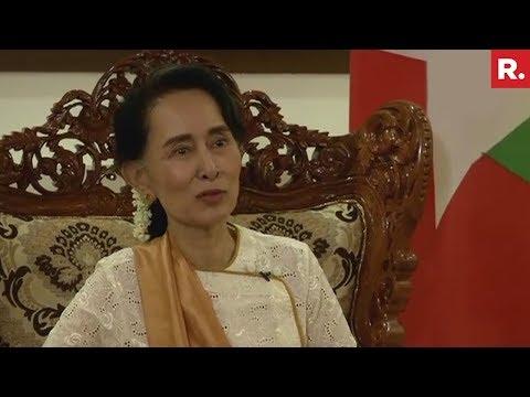 Aung San Suu Kyi On Rohingya Crisis - Full Interview
