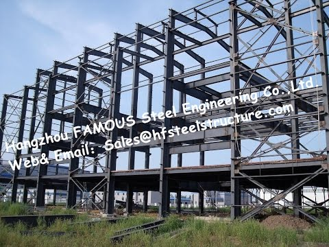 China Supplier Industrial Steel Buildings Fabricated Steel Structure Construction
