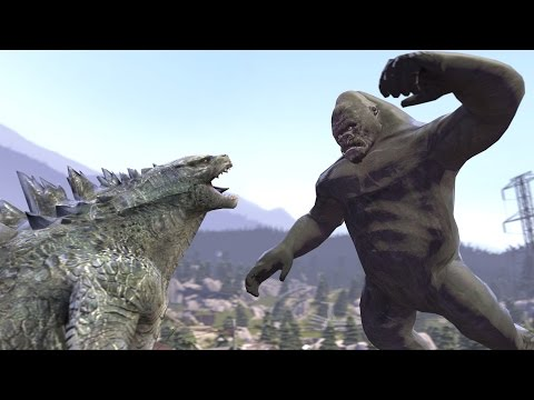 Godzilla vs. Kong But Not Really...[SFM]: Godzilla, try to remember the basics of RPS This video doesn't make any sense And  obviously a reference to mgs3 secret theater I thought it would be funny  not very happy with the result tho     Atomic breath sound effect by Kamster Rook