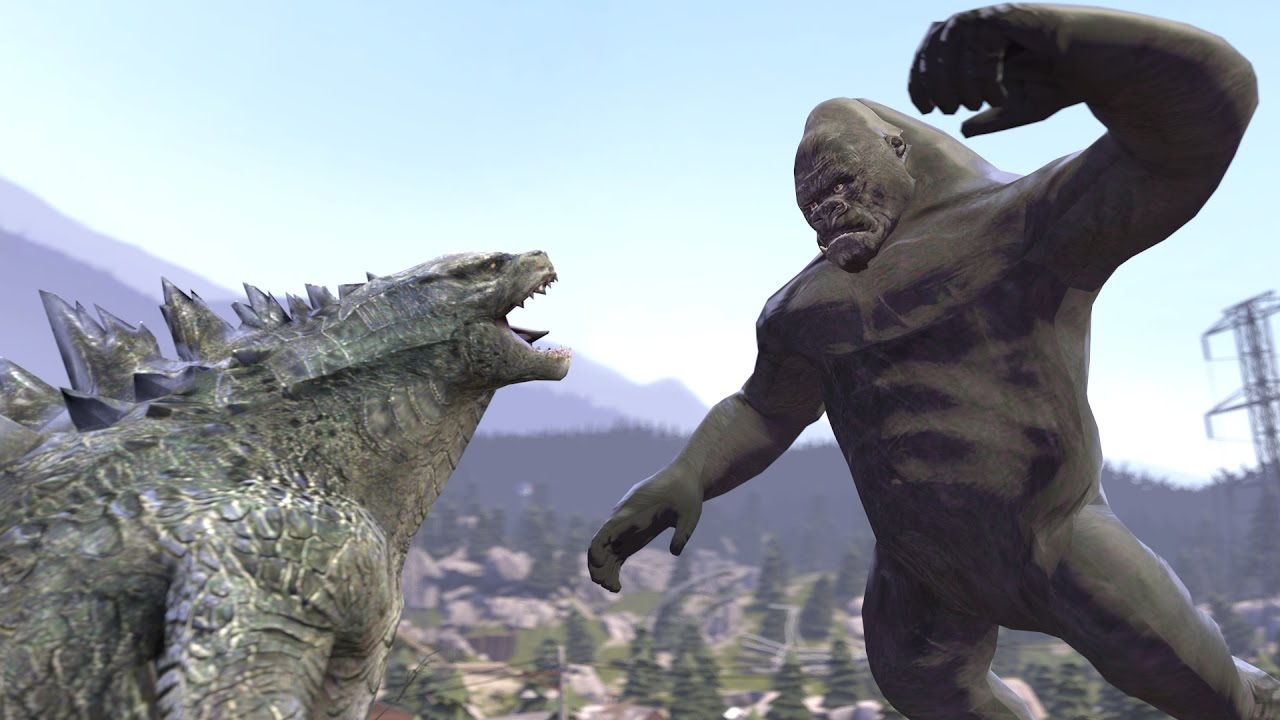 Godzilla vs Kong But Not Really SFM