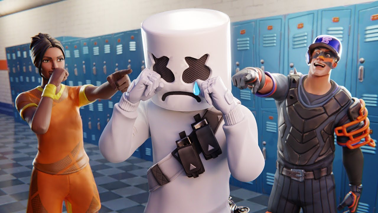 MARSHMELLO'S SAD ORIGIN STORY (A Fortnite Short Film)