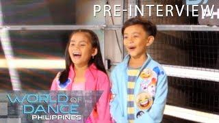 World Of Dance Philippines: Seandrei | Pre-Interview