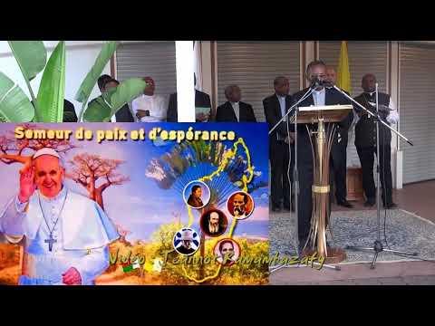 pape fran231ois logo et devise pour madagascar youtube