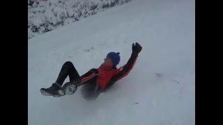 Karpatu zima sneg