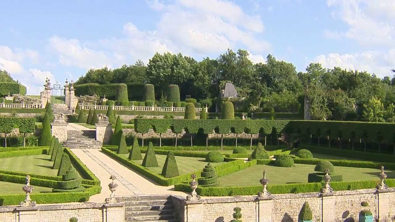 Normandie les jardins du ch teau de br cy youtube - Les jardins du golfe porto vecchio ...