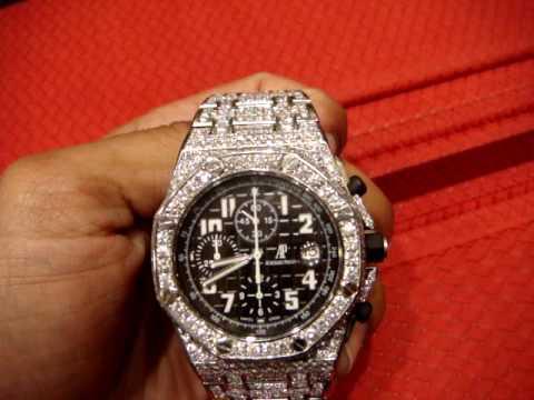 Jay Z Jewelry Audemars Piguet Ap Full Case Diamonds Youtube